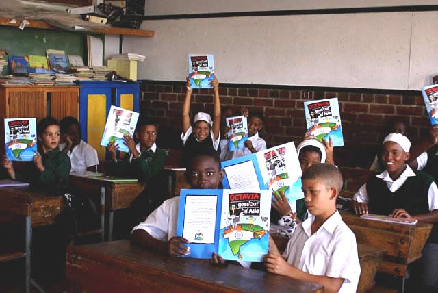 Waterfront Rotary Club: Kids with books : the library project